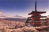 MOUNT FUJI - SCENIC POSTER 24x36 - JAPAN 3115
