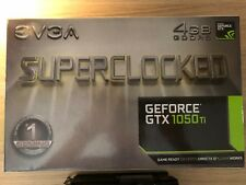 EVGA GeForce GTX 1050Ti 4 Go GDDR 5 Superlocked