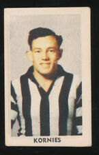 Kornies Collingwood Magpies Single AFL & Australian Rules Football Trading Cards