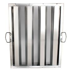 """Thunder Group Hood Filter 16"""" X 20 inch, Stainless Steel Slhf1620 New"""