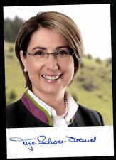 Tanja Schorer DREMEL AUTOGRAFO carta firmato originale # 37474