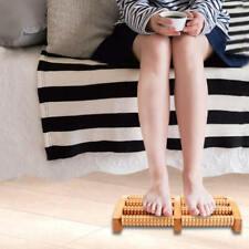 Wooden Feet Roller Wood Foot Care Massage SPA Reflexology Relax Stress Heath jsd