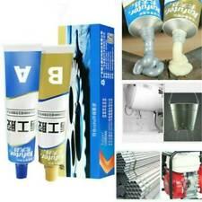 2X Industrial Heat Resistance Cold Weld Metal Repair Paste Adhesive A & B Gel