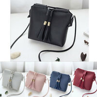Women PU Leather Shoulder Cross Body Bag Tote Messenger Satchel Purse Handbag