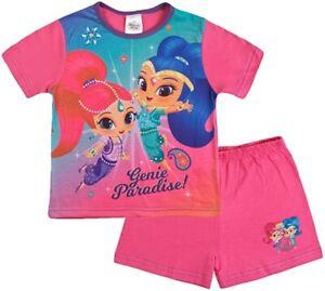 Shimmer and Shine Genie Paradise Short Summer Pyjamas. Age 2-3 Years. Brand New