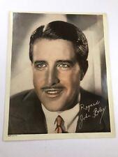 Antique/Vintage 1934 Studio Portrait/Photograph Of John Boles