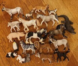 Schleich bundle of 20 animals