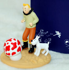 Tintin and snowy Figurine Tintin from The Shooting Star Certificate Limited