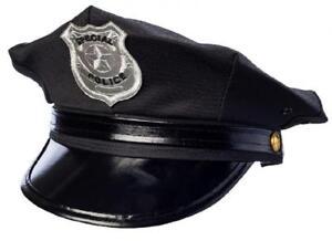 Polizei Polizeimütze Cop Cap Police Hut Mütze Kappe Kostüm Uniform Kleid Anzug