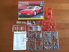 Kit Italeri N. 672 Ferrari Testarossa Set Plastic Hobby Model Maquette
