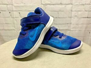 NEW Nike Boys Flex Sneakers 2018 RN Athletic Shoes AH3442 400 Size 6 Toddler