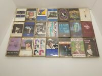Vintage Elton John Cassette Lot of 21 UNTESTED