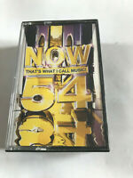 Now That's What I Call Music Vol 54 / 2003 Double Cassette Tape / Tested