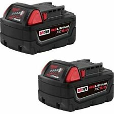 Milwaukee 48-11-1852 M18 REDLITHIUM XC 5.0 Ah Extended Capacity Battery (2 pack)
