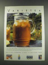 1991 Tetley Tea Ad - Varietea