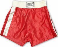 George Foreman Hand Signed Autographed Red Boxing Trunks JSA U07903