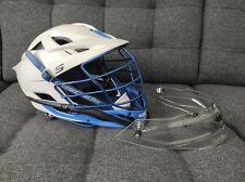 Cascade S Lacrosse Helmet with TP-S Lacrosse Helmet Goalie Throat Protector