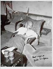 JACK WILPERS ARMY INTELLIGENCE OFFICER CAPTURED GENERAL TOJO RARE SIGNED PHOTO