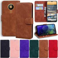 Matte Slim Wallet Leather Flip Cover Case For Nokia 7.2 6.2 5.3 4.2 3.2 2.2 1.3