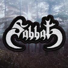 Sabbat   Embroidered Patch   Japan   Thrash / Black Metal Band