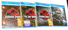 Jurassic Park 1, 2, 3 & 4 - Blu-ray + Digital HD (4-Movie Collection) BRAND NEW