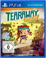 Tearaway Unfolded (Sony PlayStation 4 Spiel, 2014, USK)