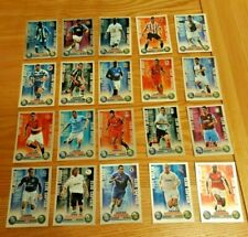 Set 20 Topps Match Attax 2007/08 EXTRA Foiled Club Captains Cards