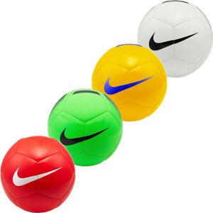 Nike Footballs Ball Pitch Team II Training Football Soccer Balls Sports Size 5