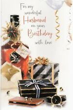 Husband ~ For My Husband On Your Birthday ~ For A Great Husband ~ Birthday Card