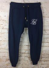 Sik Silk Pantalon De Survêtement Pantalon De Survêtement Pantalon Bleu Sz Medium/M homme