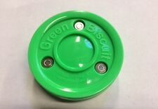 Green Biscuit Hockey Passing Training Puck - NEW!!!