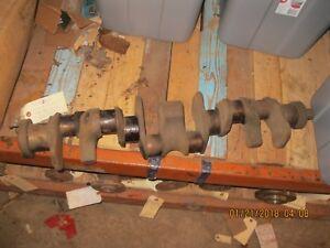 Crankshaft 1940 1941 1943  - 1947 Chevy & GMC 216 Six Cyl Engine  casting 839111