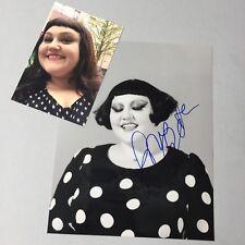 BETH DITTO 'Gossip' In-person 2017 signed Foto 20 x 25 Autogramm + Eigen-Foto