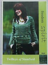Twilley's  Ladies Jumper  Knitting Pattern In Freedom Spirit  Leaflet 9060