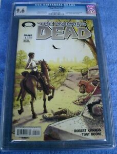 The Walking Dead #2 comic CGC 9.6
