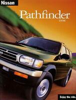 Nissan Pathfinder Prospekt GB 1998 brochure broschyr catalogue broszura catalog