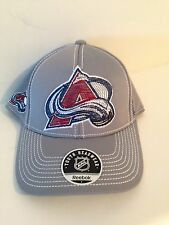 Colorado Avalanche Reebok Youth Stretch fit hat Gray