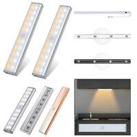 10/20/30LED Motion Sensor Closet Licht Kabellos Schrank USB Aufladbarer Innen