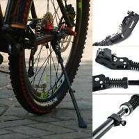 MTB Straße Berg Fahrrad Radfahren Alloy Einstellbar Kick Side Ständer # Bik H0Q4