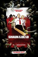 SHAUN OF THE DEAD (2004) ORIGINAL MOVIE POSTER  -  ROLLED