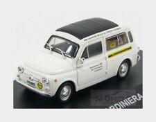 FIAT 500 GIARDINIERA modello Van SIP 1967 SCALA 1:43 IXO K8967Q Bianco