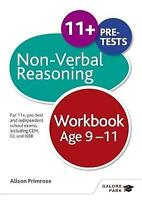Non-Verbal Reasoning Workbook Age 9-11. For 11+, pre-test and independent school