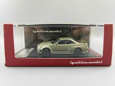 Ignition Model NISSAN Nismo R34 GT-R Z-tune Green Metallic 1:64 Scale
