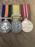 Replica Medals Full-size AOSM, National Emergency Medal And ADM