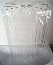 Dusch Faltkabine Duschkabine Duschvorhang Ridder Ombrella H: 170 cm PEVA klar