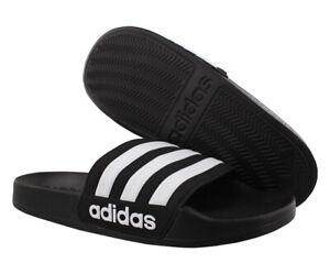 Adidas Adilette Shower Boys Shoes Size 6, Color: Black/White