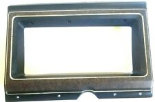 75-91 Ford Econoline Van Instrument Cluster Surround Bezel Woodgrain 1975-1991