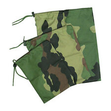 Army Military Cadet Camping Hiking Waterproof Stash Dry Bags Sacks CCE Set of 3