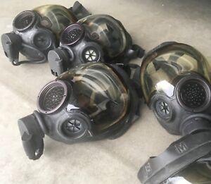 MSA Millennium Full Face Gas Mask CBRN Size Medium Respirator 40mm Riot Controll