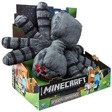 "New JINX Minecraft 13"" Spider Plush Stuffed Toy"
